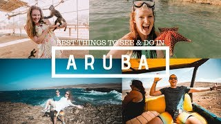 Best Things To See & Do In Aruba!