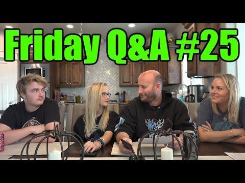 Family Q&A on Friday #25 November 13th 2015