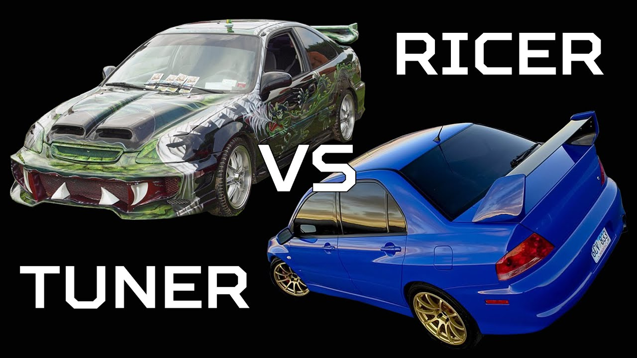 Ricer Vs Tuner Muscle Youtube