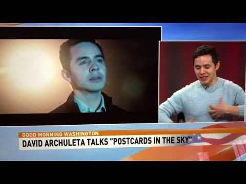 David Archuleta on ABC7 WJLA NC8 Interview and Invincible 3-05-2018