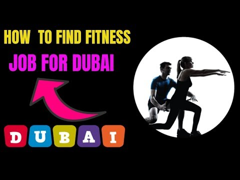 How To Find A Fitness Trainer Job For Dubai ?
