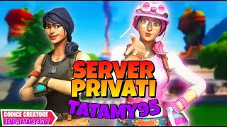 [FORTNITE LIVE GIRL ITA]-SERVER PRIVATI E SQUAD(proplayer non ammessi)//#Tatamy95 #fortnitelivegirl
