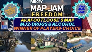 Far Cry Map Jam 2  Freedom Winner MJ2-Drugs & Alcohol By AKAFootloose for Players Choice