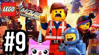 The LEGO Movie Videogame Walkthrough PART 9 - SUBMARINE! (PS4 XBOX ONE WiiU PC Gameplay 1080p)