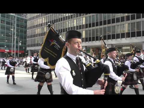 Tartan Parade~2019~NYC~Lanarkshire Schools Pipe Bands~NYCParadelife