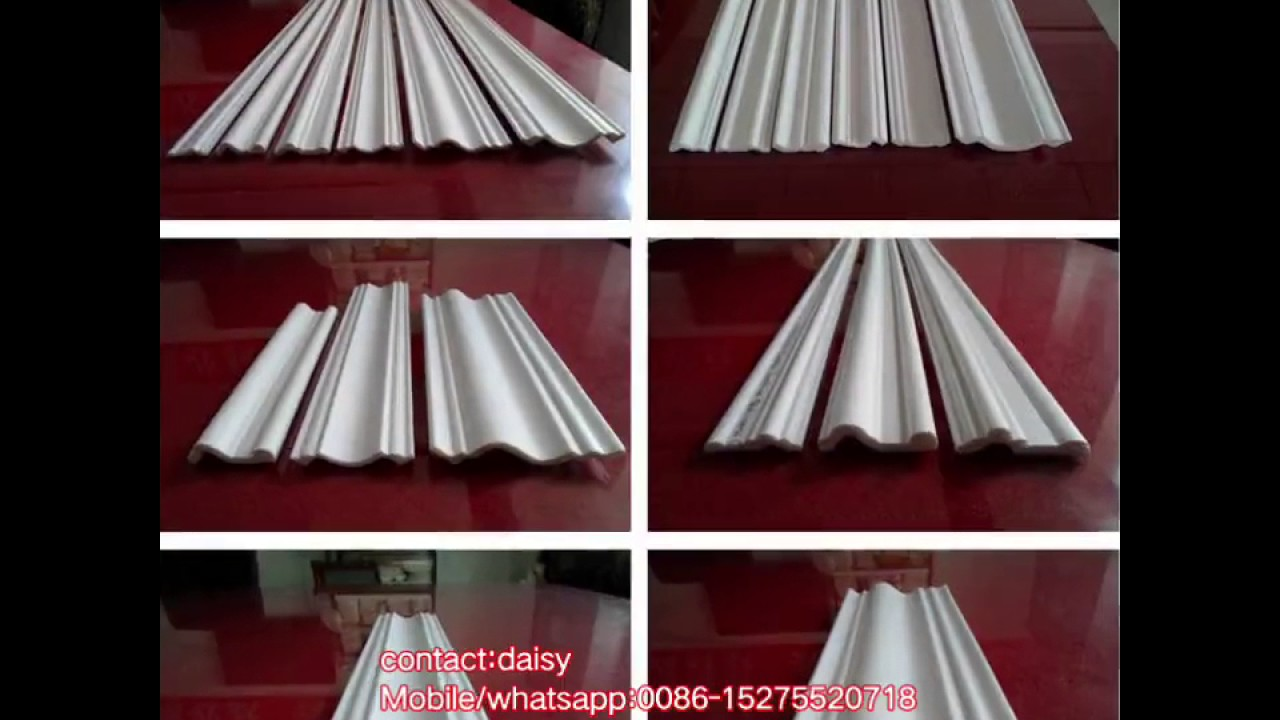 Xps polystyrene cornice decorative ceiling cornice moulding polystyrene molding youtube - Corniche decorative polystyrene ...