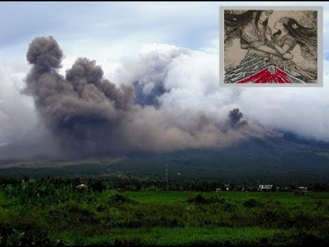 Mayon Legend Manifestation Stuns Onlookers-Super Blue Moon Sparks Fear-Dark Sky Preparations