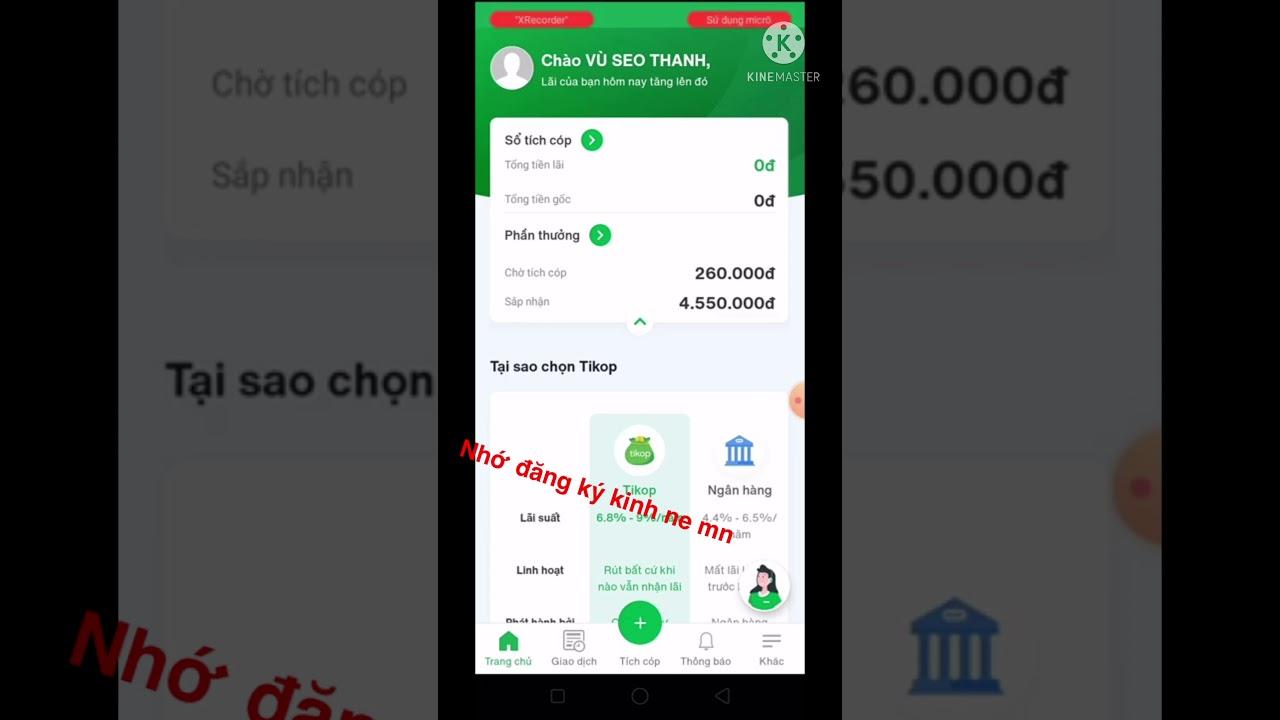 (Thủ thuật) kiếm 4,5 triệu trong một ngày với Tikop kiếm tiền online 2021