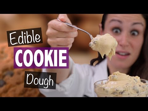 DIY EDIBLE COOKIE DOUGH