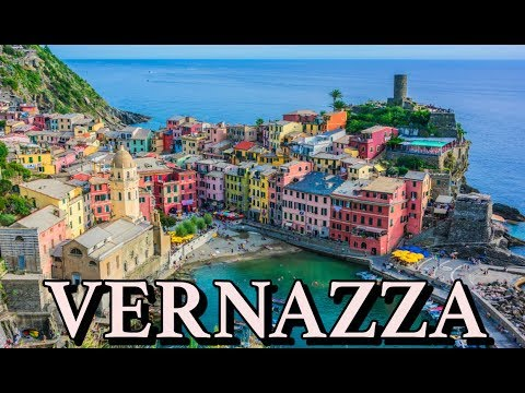 Vernazza Cinque Terre Italy 4K