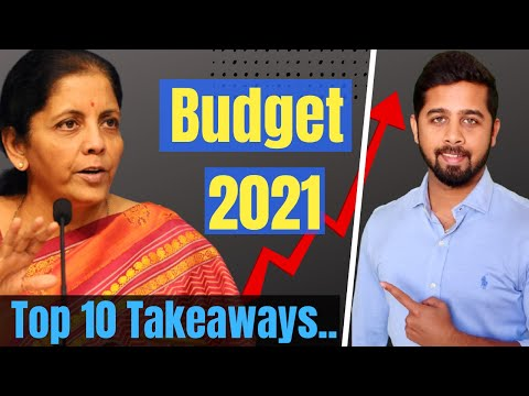 Top 10 takeaway from Budget 2021 | Top sectors that would benefit the most | Budget 2021 Analysis