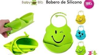 Kit x3 Baberos de Silicona Baby Bib con divertidos estampados - aPreciosdeRemate