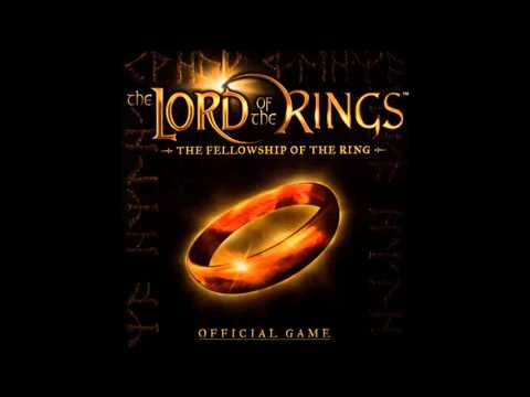 Lotr the fellowship of the ring game soundtrack the great river anduin