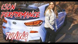Hyundai i30N Performance Tuning | Wagner Ladeluftkühler | HJS Downpipe | Lisa Yasmin