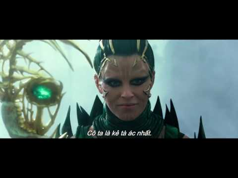 """Phim hành động """"Power Rangers"""" Official Trailer"""