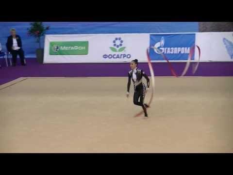 Phajava Salome (GEO)  ribbon  World Cup S-Petersburg 2013 Qual