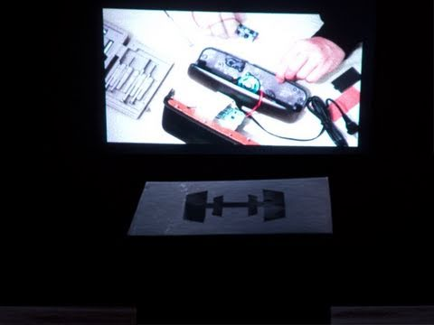 how to make a screen projector for your phone