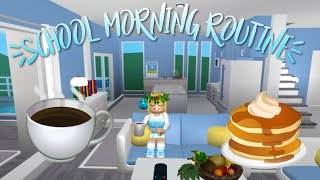 My Real School Morning Routine - House tour !!! | Welcome to Bloxburg | Roblox |