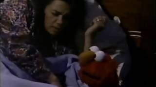 Sesame Street - Big Bird, Elmo and Snuffy want to sleep with Maria and Luis