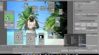 VIDEO TUTORIAL CHROMA KEY EN BLENDER 2.5 ESPAÑOL