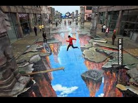 FANTASTIC STREET 3D ART WORK