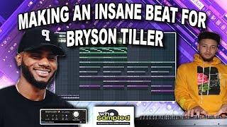 the secret to making insane beats for bryson tiller