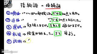 日本語の読解において接続詞は最も大切だと言っても過言ではないです。 ...