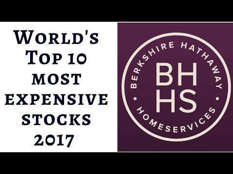 World's Top 10 Most Expensive stocks 2017 .