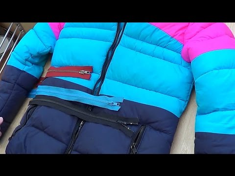 Как вшить молнию в детскую куртку