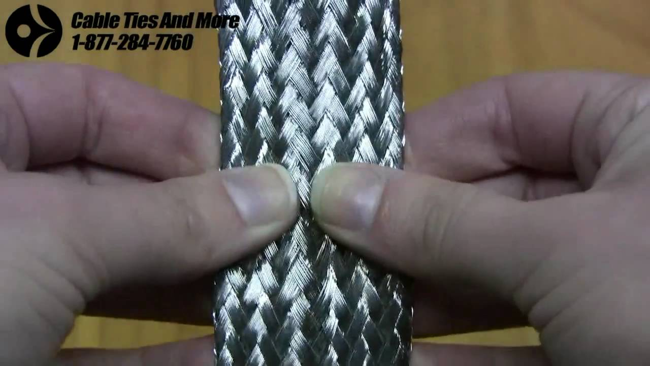Stainless Steel Braided Sleeving - Ultimate Protection & Appearance ...