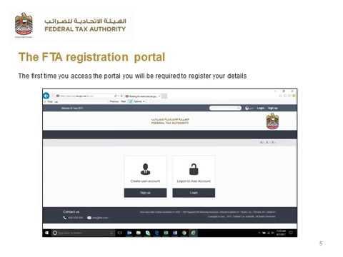 VAT Registration Procedure UAE