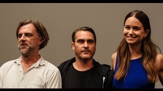 "NYFF52: ""Inherent Vice"" Press Conference 