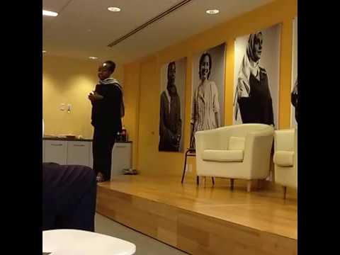 "Ms Kah WALLA's presentation on ""MACRO-TRENDS IN AFRICA"""