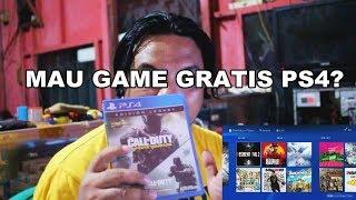 CARA MUDAH MENDAPATKAN GAME GRATIS PS4