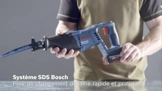 Scies sabres sans fil Bosch - Guedo outillage