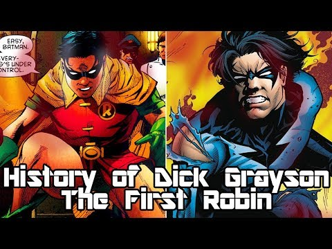History of Dick Grayson - The First Robin (Redux)