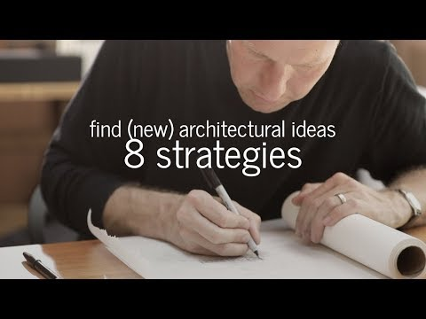 How to Find Architectural Ideas