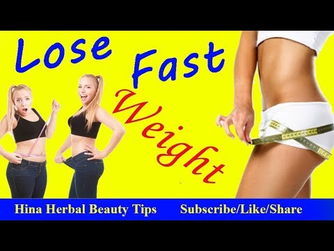 Easy Weight Loss Home Remedies in Hindi Urdu Lose Weight Fast By Dr Hina