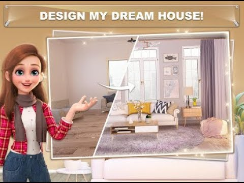 My Home Design Dreams Gameplay Android Ios Youtube