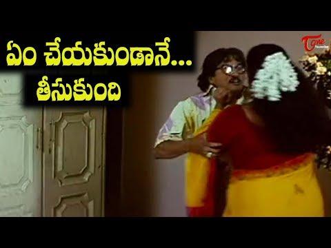 rape scene between rajendra prasad   shakeela   navvulatv