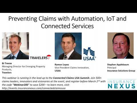 Preventing Claims with Automation, IoT and Connected Services