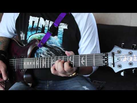 "Between the Buried and Me ""Telos"" guitar demonstration - Dustie Waring"