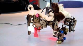 Modular work of art  Cadavre Exquis Robot#1