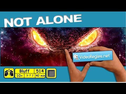 "Vidéorègle jeu de société "" Not Alone "" par Yahndrev (#514)(+sub)"