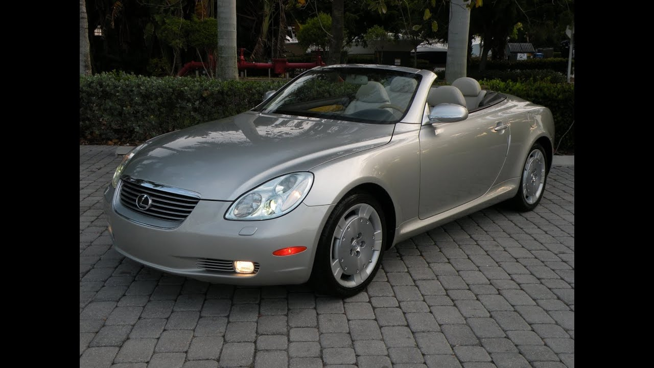 2002 lexus sc430 silver for sale auto haus of fort myers. Black Bedroom Furniture Sets. Home Design Ideas