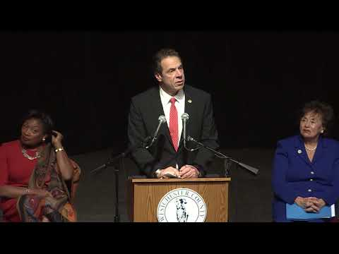 Governor Cuomo Swears in George Latimer at Westchester County Executive Inauguration