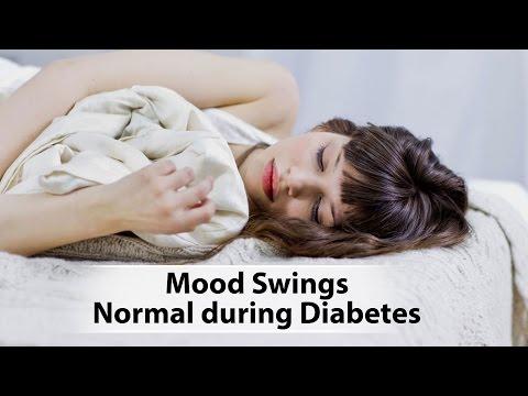 Mood Swings Normal during Diabetes