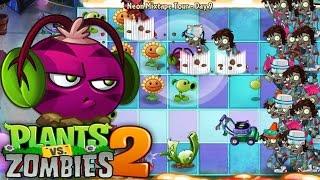 Plants vs. Zombies™ 2 - PopCap Neon Mixtape Tour Day 9