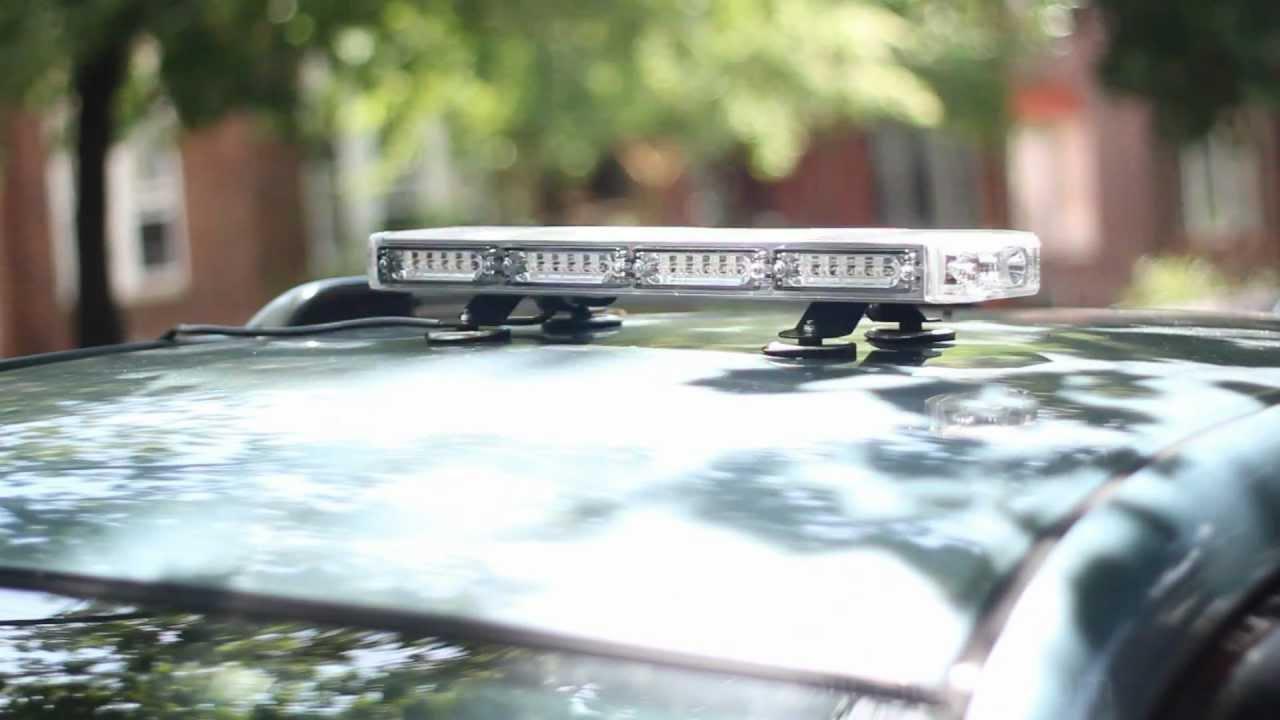Police lightz mini linear slim pro emergency light bar youtube police lightz mini linear slim pro emergency light bar aloadofball Image collections