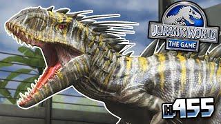 MAXED INDOMINUS REX GEN 2!!! || Jurassic World - The Game - Ep 455 HD